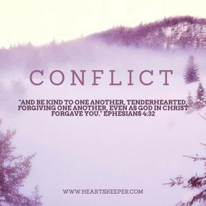 conflict blog post ephesians 4:32