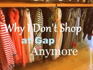 clothing store at Gap