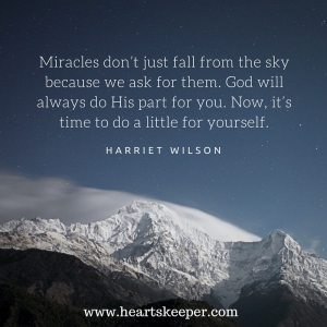 miracles quote in the mountains