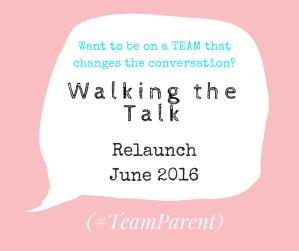 Walking the Talk relaunch team
