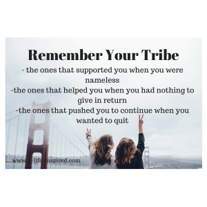 remember your tribe